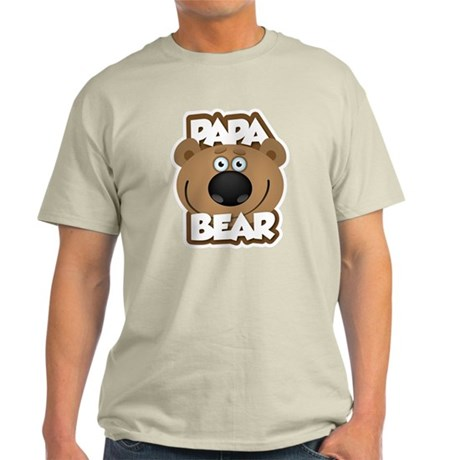 Papa Bear Light T-Shirt
