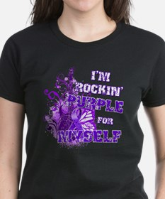 Im Rockin Purple for Myself.png Tee