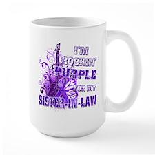 Im Rockin Purple for my Sister in Law.png Mug