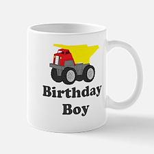 Dump Truck Birthday Boy Mug