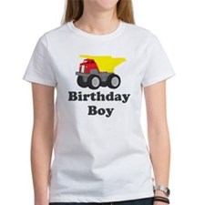 Dump Truck Birthday Boy Tee