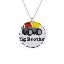 Big Brother Dump Truck Necklace