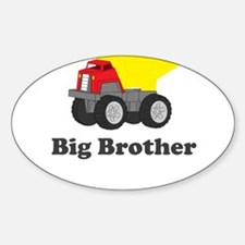Big Brother Dump Truck Decal