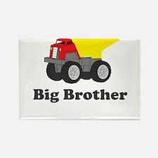 Big Brother Dump Truck Rectangle Magnet
