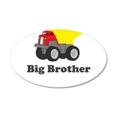 Big Brother Dump Truck Wall Decal