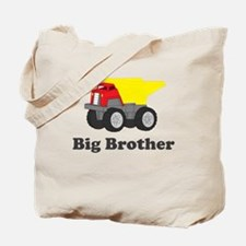 Big Brother Dump Truck Tote Bag