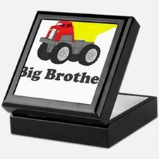 Big Brother Dump Truck Keepsake Box