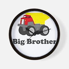 Big Brother Dump Truck Wall Clock