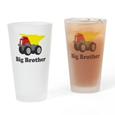 Big Brother Dump Truck Drinking Glass