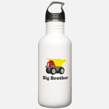 Big Brother Dump Truck Water Bottle