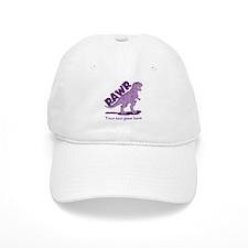 Personalized Purple Dinosaur RAWR Baseball Cap