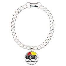 Little Brother Dump Truck Charm Bracelet, One Char