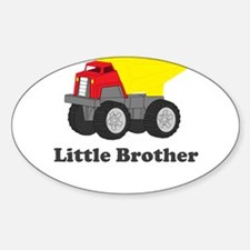 Little Brother Dump Truck Decal