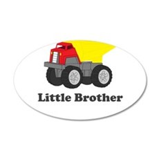 Little Brother Dump Truck Wall Decal