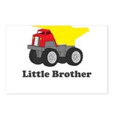 Little Brother Dump Truck Postcards (Package of 8)