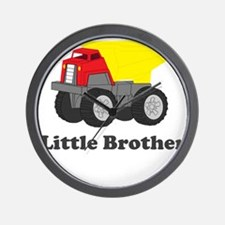 Little Brother Dump Truck Wall Clock