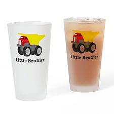 Little Brother Dump Truck Drinking Glass
