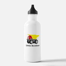 Little Brother Dump Truck Water Bottle