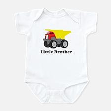 Little Brother Dump Truck Onesie