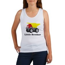 Little Brother Dump Truck Women's Tank Top