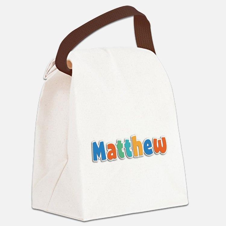 Matthew Spring11B Canvas Lunch Bag