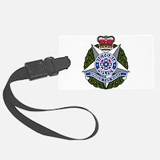 Victoria Police logo Luggage Tag