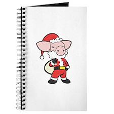 Santa Piggy Journal