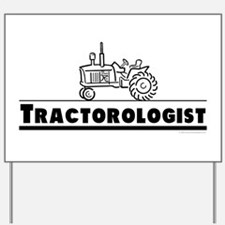 Funny Tractor Yard Sign