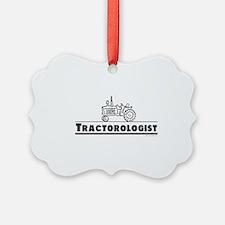Funny Tractor Ornament