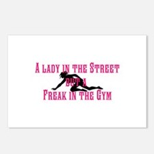 Lady Freak Postcards (Package of 8)