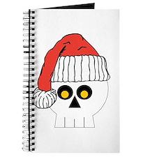 Santa Skull Christmas Journal