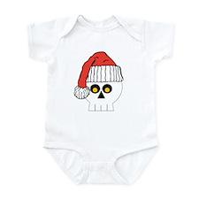 Santa Skull Christmas Infant Bodysuit