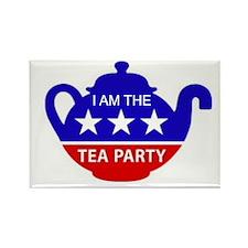 TEA PARTY Rectangle Magnet