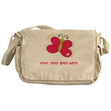 Personalized Cute Cartoon Butterfly Messenger Bag