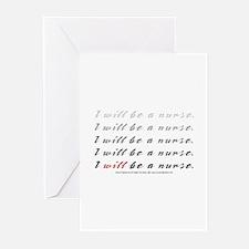 Nurse Mantra Greeting Cards (Pk of 20)
