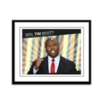 Tim Scott Framed Panel Print
