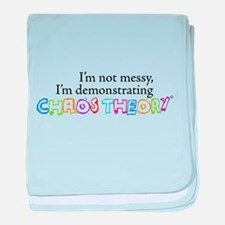 Chaos Theory Multi-colored baby blanket