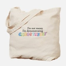 Chaos Theory Multi-colored Tote Bag