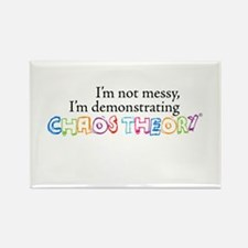Chaos Theory Multi-colored Rectangle Magnet