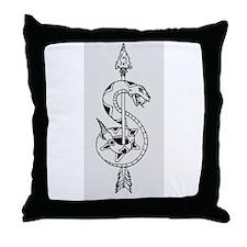 Sniper Logo Throw Pillow