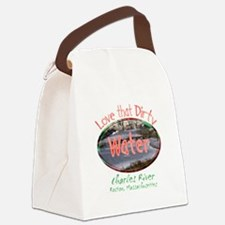 love that dirty water.png Canvas Lunch Bag