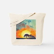 San Antonio Sunset Tote Bag