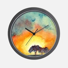 San Antonio Sunset Wall Clock