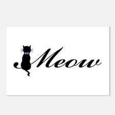 Meow Postcards (Package of 8)