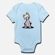 Chinese Crested Cutie Infant Bodysuit