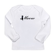Meow Long Sleeve Infant T-Shirt