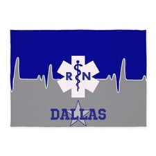 Dallas Nurse 5'x7'area Rug