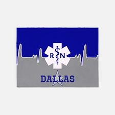 Dallas Nurse 5'x7'area Rug
