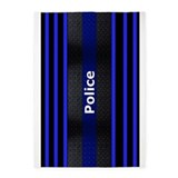 Thin blue line rug 5x7 Rugs