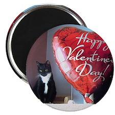 Valentine's Day Kitty Magnet